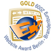 Gold Website Award Berlin Brandenburg 2009